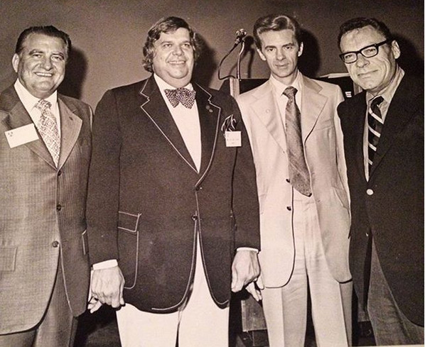 Bob with Earl Nightingale and friends